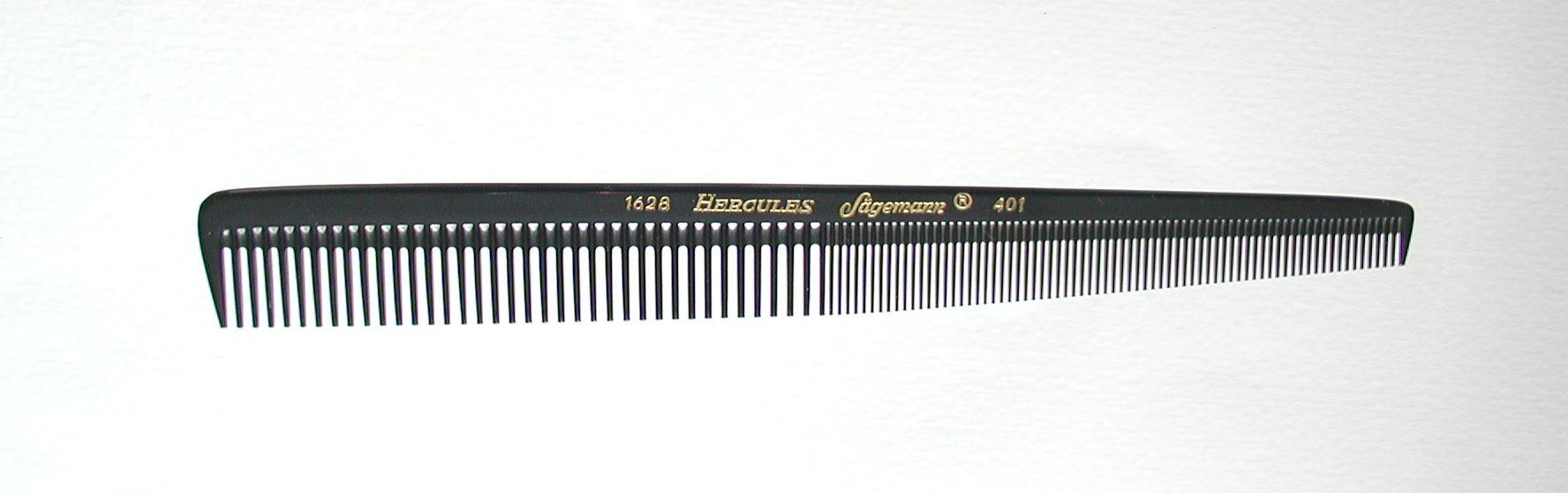 Hercules Sägemann 1628/401 Haarschneidekamm 7,5''