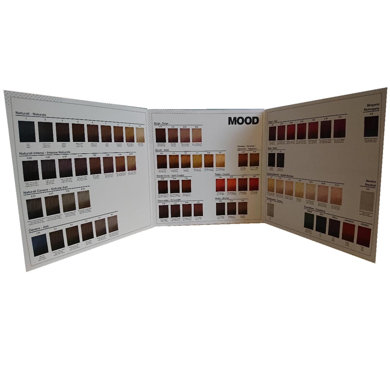 MOOD Color Cream Farbkarte
