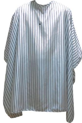 "Barber Umhang ""White / black stripes"" (Hakenverschluss)"