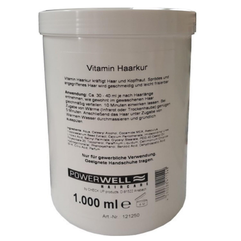 POWERWELL Vitamin Haarkur 1 L