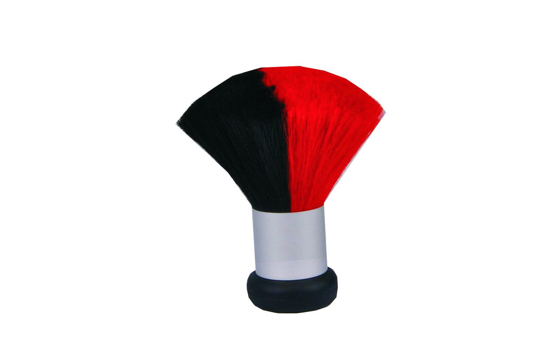 MIX COLOR Nacken- und Kosmetikpinsel rot/schwarz