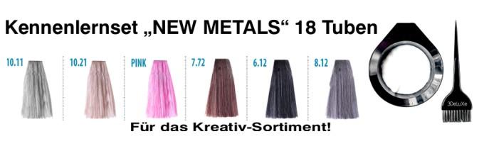 """Kennenlernset """"New Metals"""""""