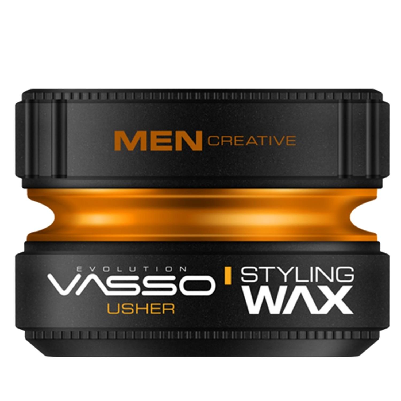 VASSO MEN CREATIVE Styling Wax Pro-Aqua ¨USHER¨ 150 ml