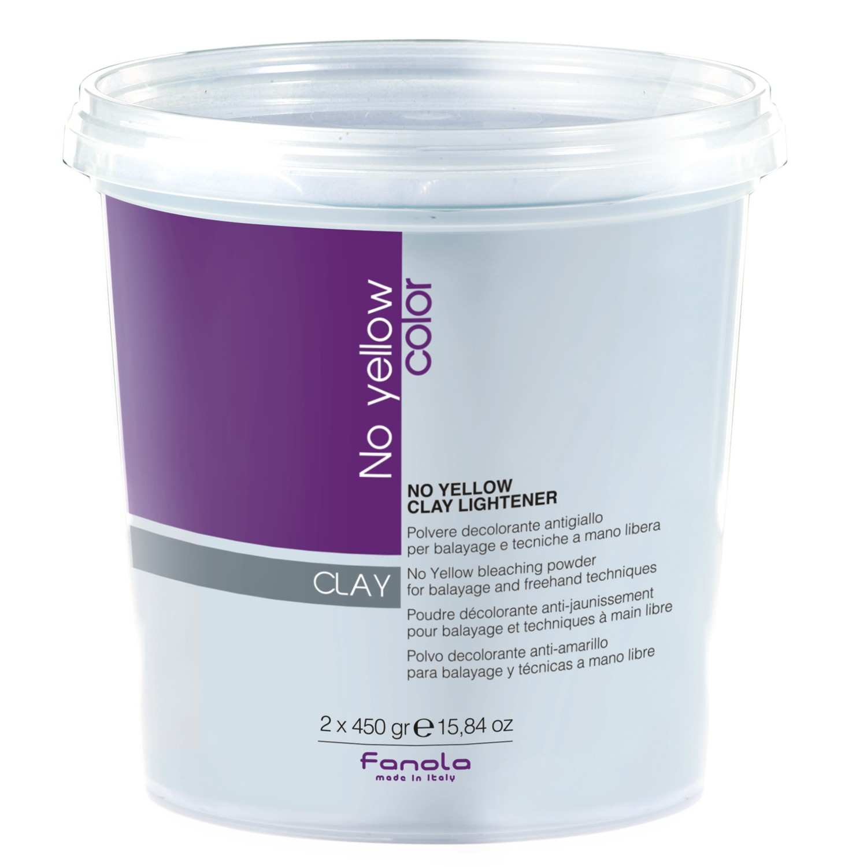 Fanola No Yellow Clay Lightener 2x 450 g Dose