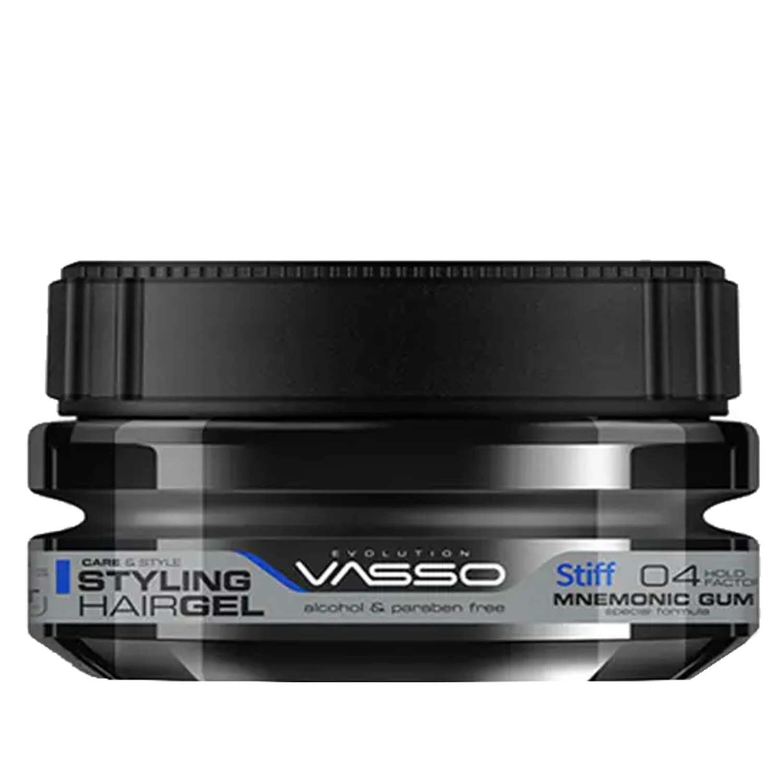 VASSO MNEMONIC GUM Styling Hairgel ¨STIFF¨ 250 ml