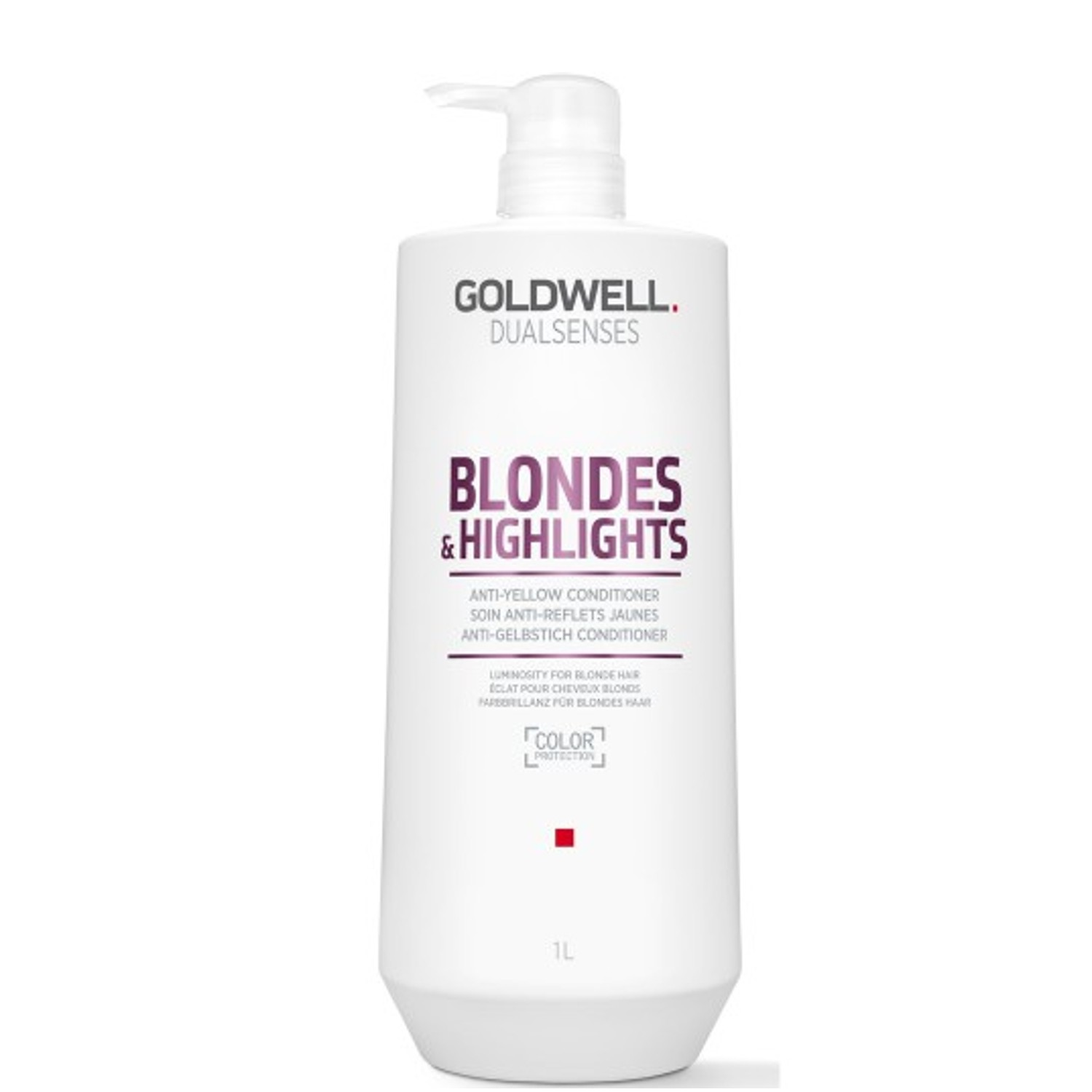 GOLDWELL Dualsenses Blondes & Highlights Anti-Yellow Conditioner 1 L