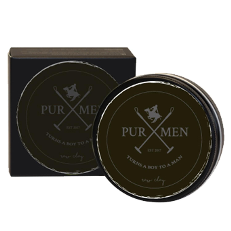 PUR HAIR PUR MEN raw clay 100 ml