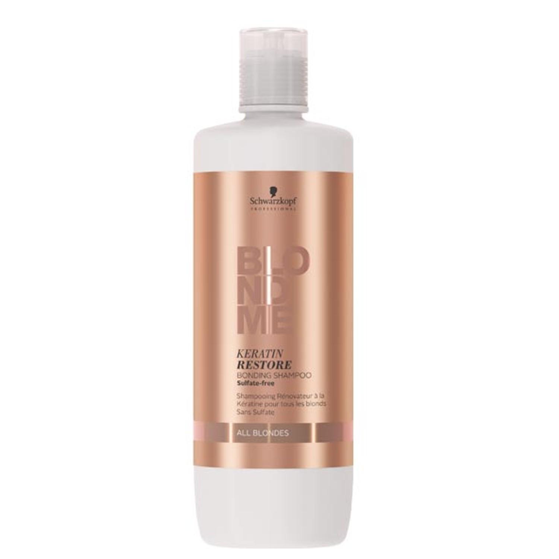 Schwarzkopf BLONDME Keratin Restore Bonding Shampoo All Blondes 1 L