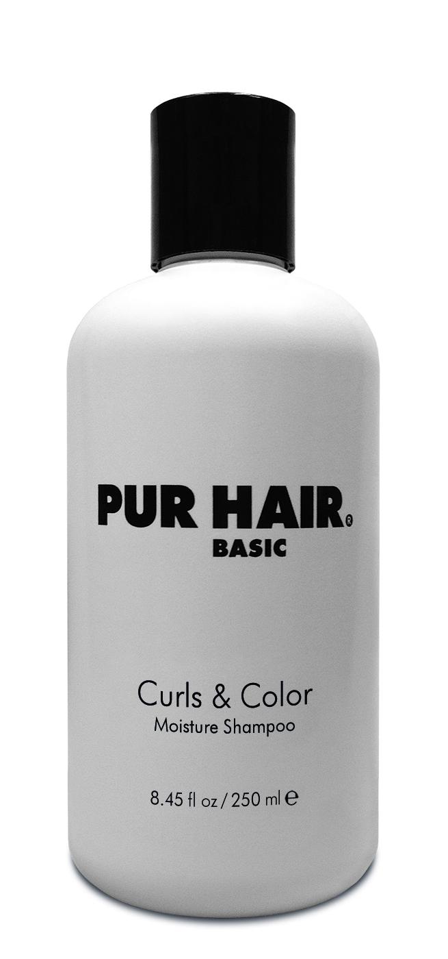 PUR HAIR Basic Curls & Color Moisture Shampoo 250 ml