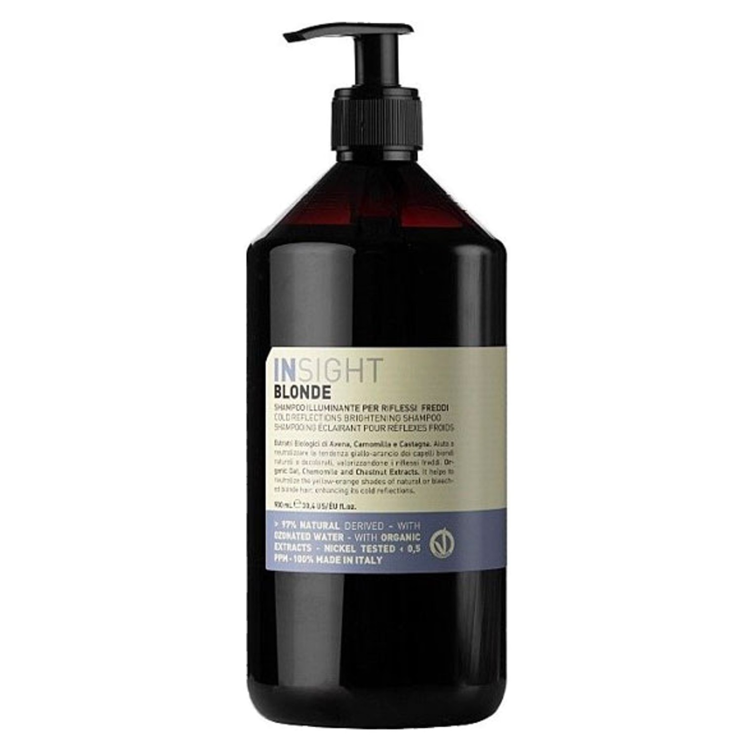 Insight BLONDE Cold Reflections Brightening Shampoo 900 ml