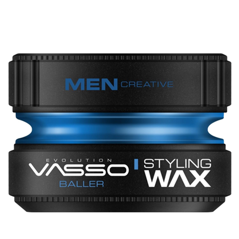 VASSO MEN CREATIVE Styling Wax Pro-Aqua ¨BALLER¨ 150 ml