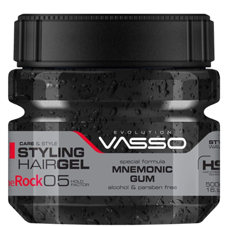 VASSO MNEMONIC GUM Styling Hairgel ¨THE ROCK¨ 500 ml