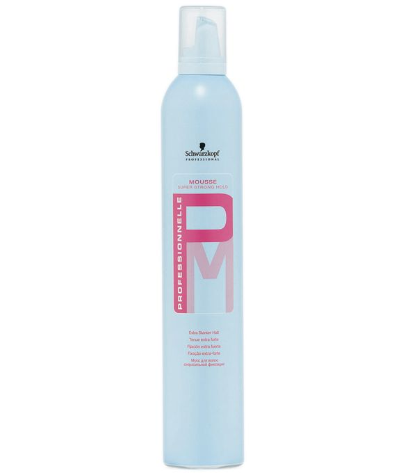 Schwarzkopf PROFESSIONNELLE Super Strong Hold Mousse 500 ml
