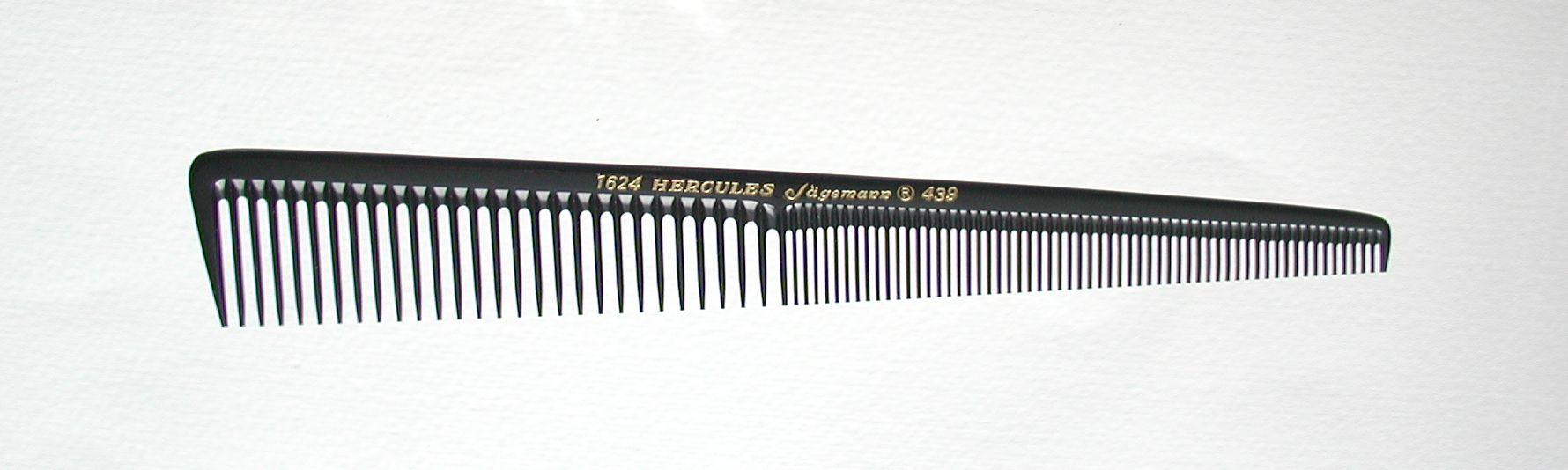 Hercules Sägemann 1624/439 Haarschneidekamm 7,5''